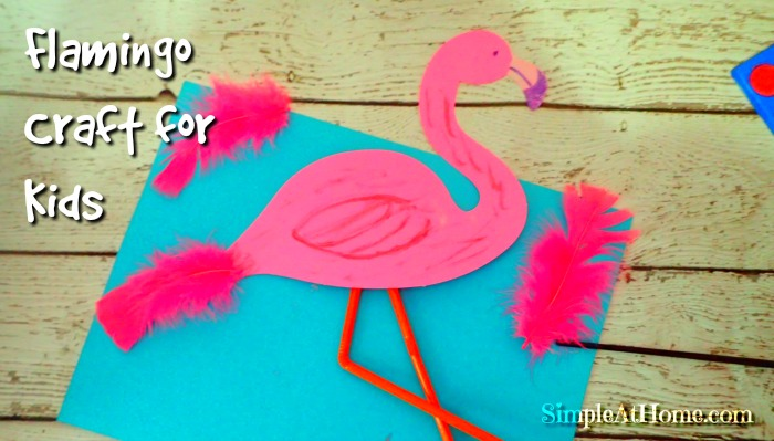 Flamingo Kids Craft With Book List
