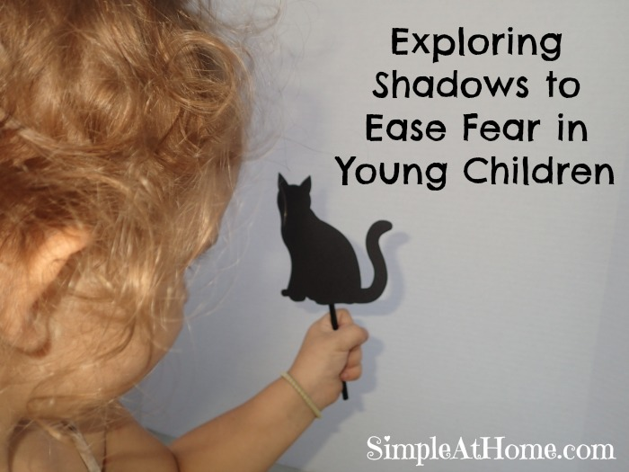 Exploring Shadows to Ease Fear in Young Children