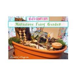 Arresting Fairy Garden Little Red Wagon Fairy Garden Kids Craft Diy Miniature Fairy Garden Little Plants