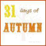 Announcing: 31 Days of Autumn