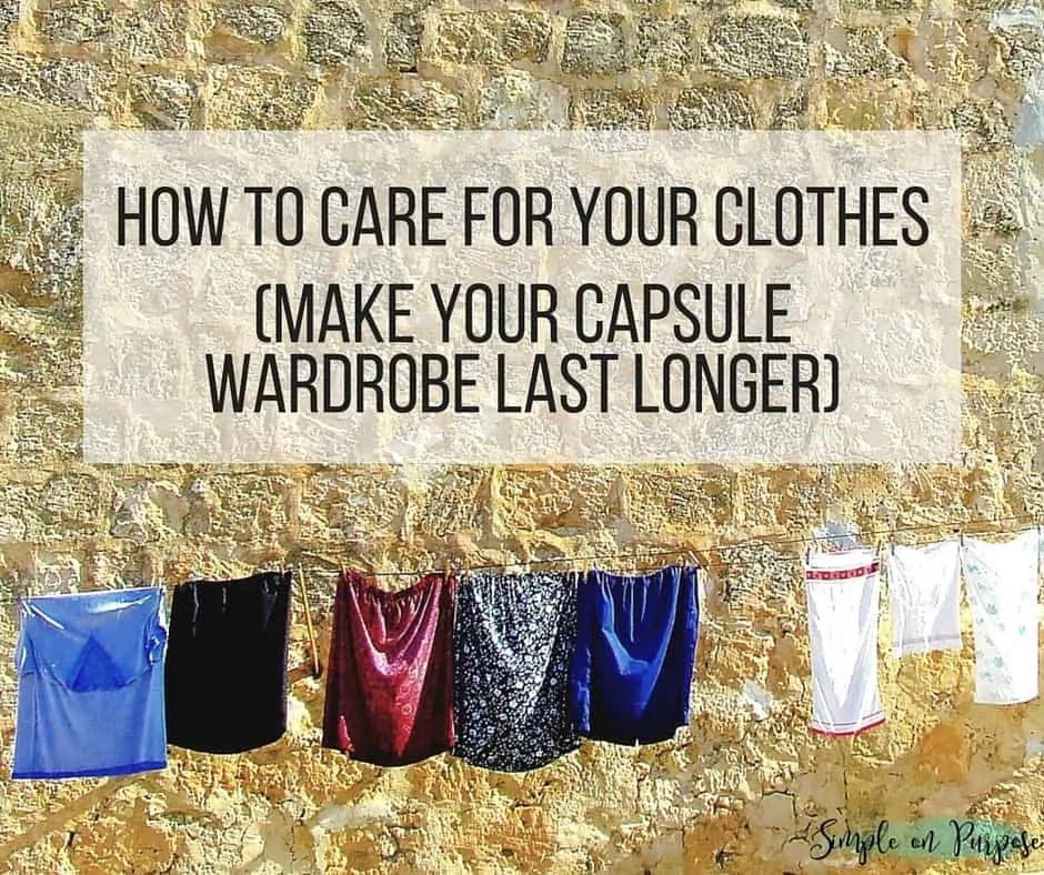 25 Practical Tips for Making Your Clothes Last Longer