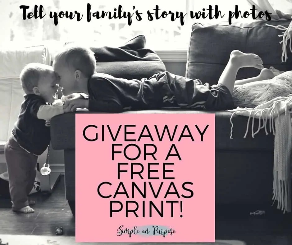The Story Behind the Photo (A Canvas Factory Giveaway)