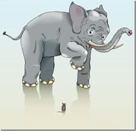 elephantmouse thumb Kanban Story Sizing, Elephants and Mice