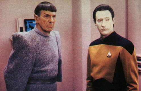 data and spock thumb Going Backwards to Go Forwards