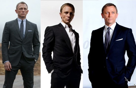 bond Celebrity Styles: Suits