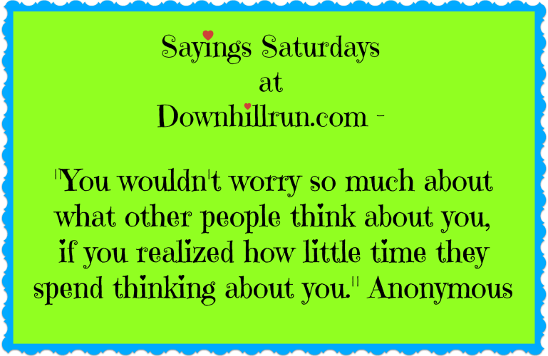 Sayings Saturdays – 9/26/2015