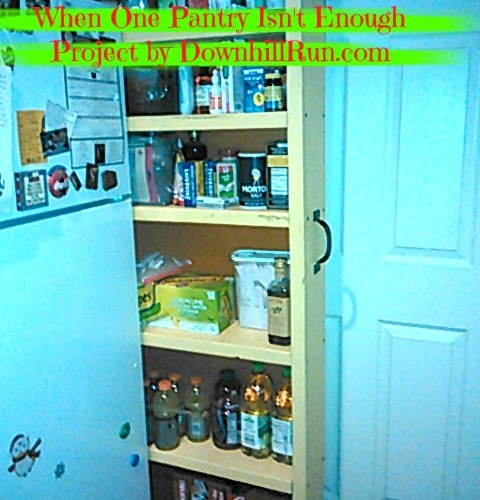 When One Pantry Isn't Enough