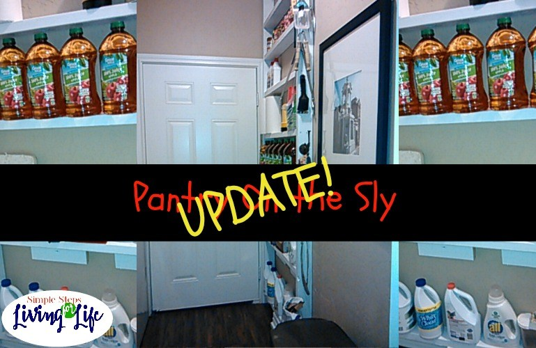 Pantry On the Sly Update