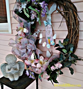 Mamaw Easter 2016 outside 4