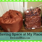 Saving Space in My Place – Sleeping Bag Storage