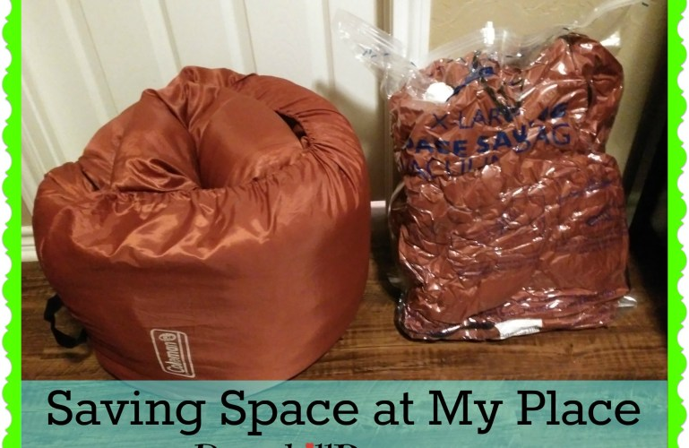 Saving Space in My Place – Sleeping Bag Storage