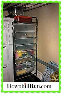 8 drawer rolling cart