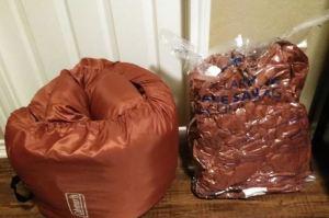 Sleeping Bags storage