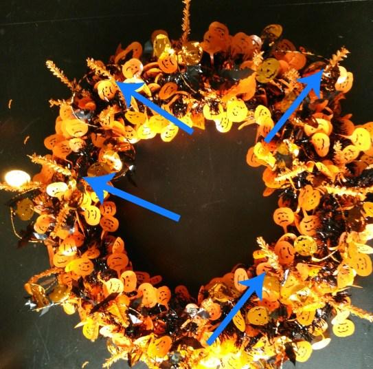 Halloween Wreath 4