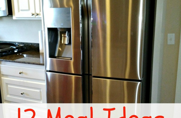 12 Meal Ideas – When You Don't Have a Refrigerator