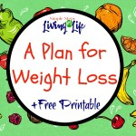 A Plan for Weight Loss + Free Printable