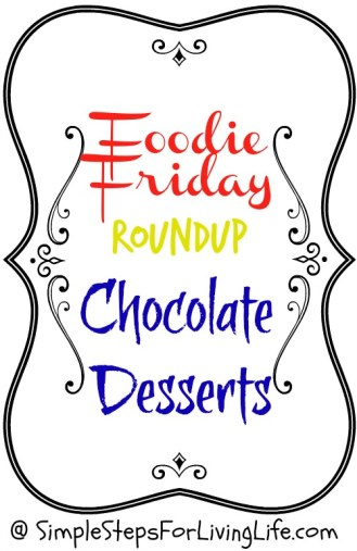 Friday Foodie weekly post.