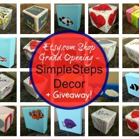 SimpleStepsDecor NEW etsy Shop +Giveaway!