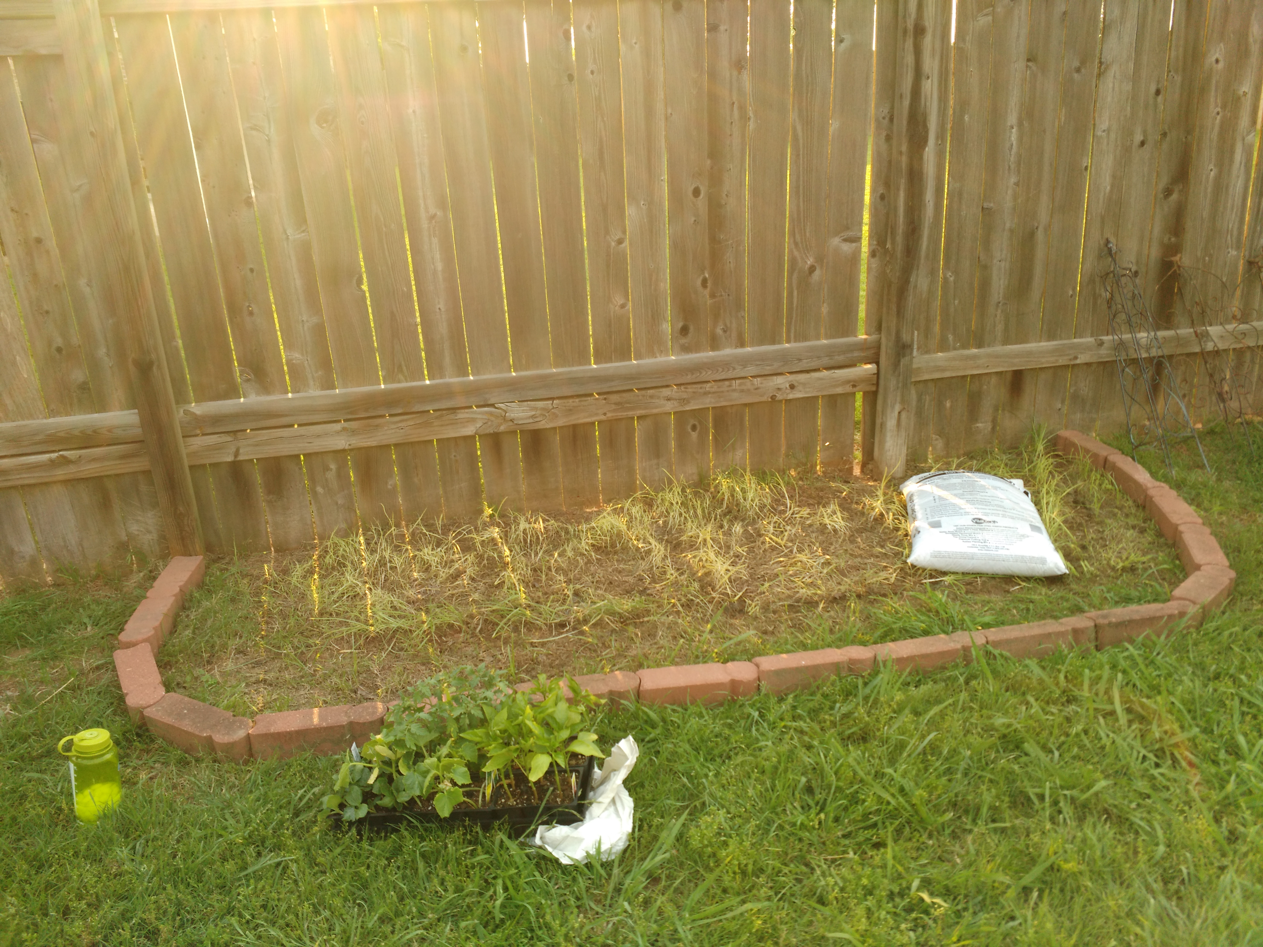 how i made a garden from recycled items simplestepsforlivinglife