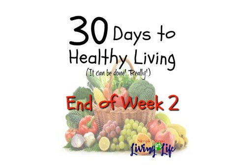 30 Days to healthy living WEEK 3