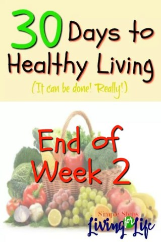 30 Days to healthy living WEEK 2