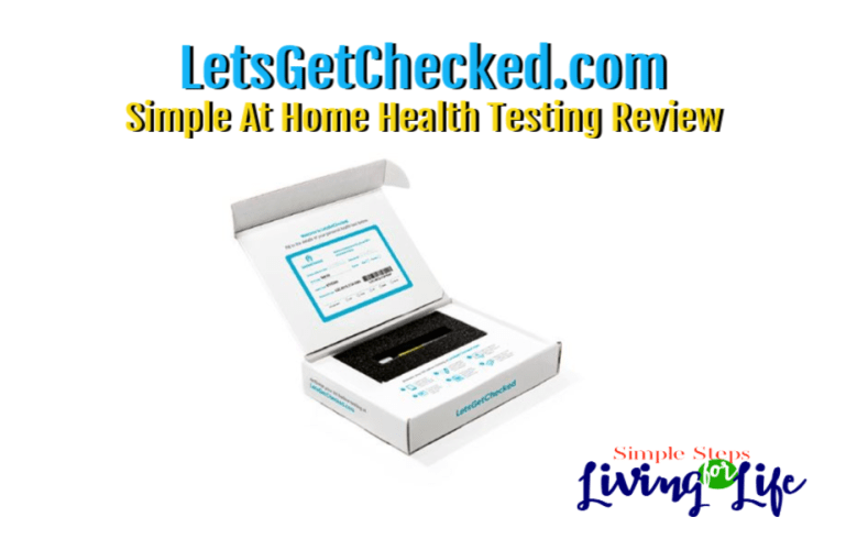 Simple Home Health Testing with LetsGetChecked.com