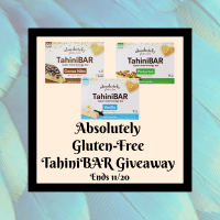 Absolutely Gluten-Free TahiniBAR Giveaway Ends 11/30