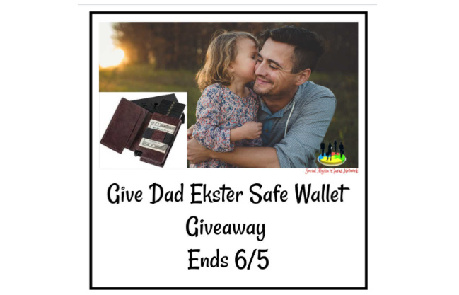 Give Dad Ekster Safe Wallet – Giveaway Ends 6/5