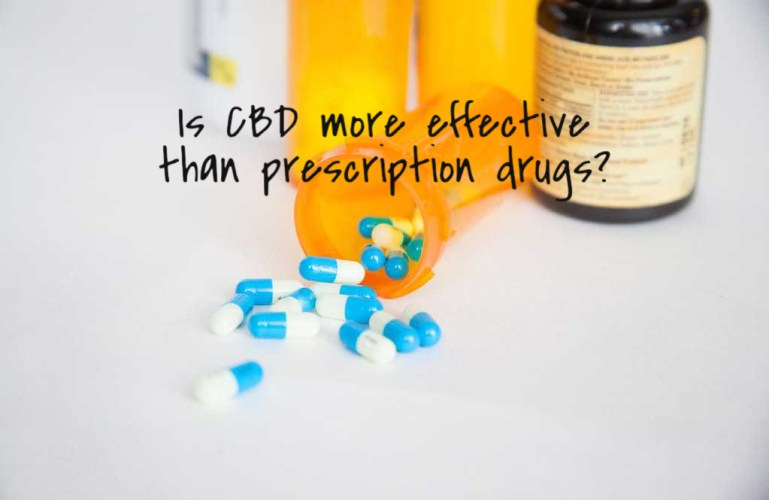 Is CBD more effective than prescription drugs?
