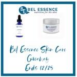Bel Essence Skin Care Giveaway Ends 12/25