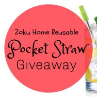 Zoku Home Pocket Straw Giveaway – Ends 1/16/2020