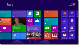 Windows 8 Metro or Start UI