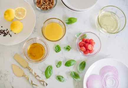 Citrus Honey Vinaigrette Salad Dressing