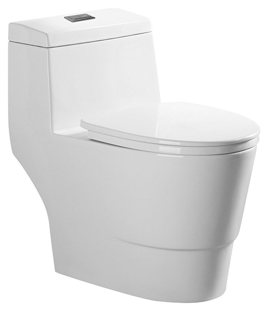 Fantastic 2018 Guide Reviews Power Flush Toilet Reviews Power Flush Toilet Menards Woodbridgebath Dual Flush Elongated One Piece Toilet Flushing Toilet houzz-02 Power Flush Toilet