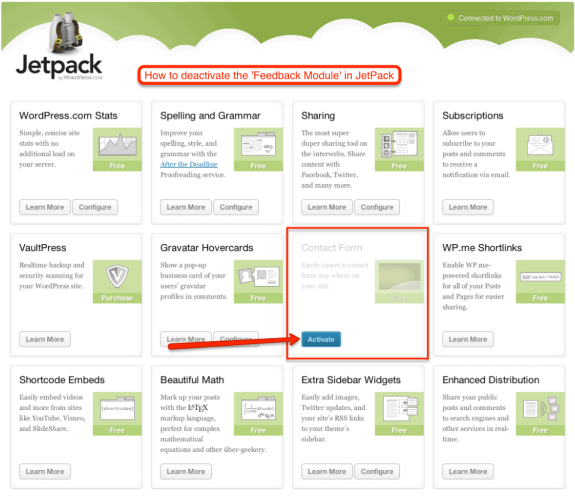 wordpress jetpack plugin hack feedback