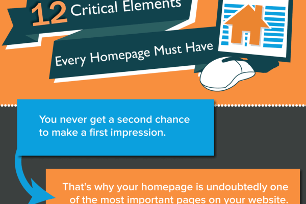 Critical Elements Every Website Homepage Must Have [Infographic]