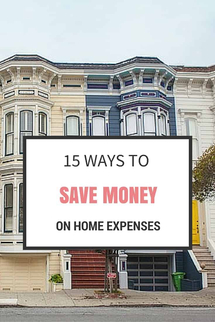 15 ways to save money on home expenses simplify create for Ways to save for a house