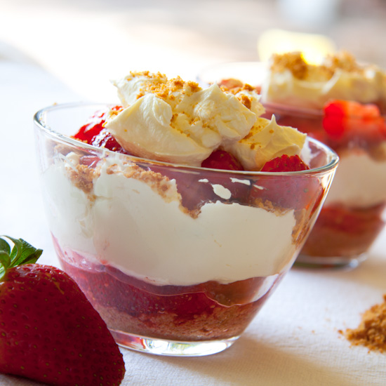 Strawberries & Cream pot