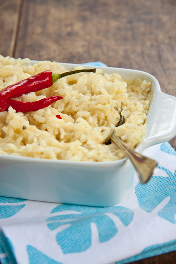Baked Crab Risotto