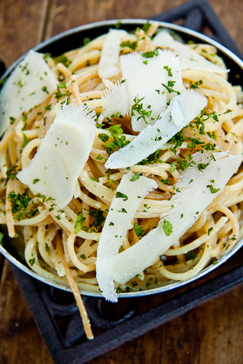 Spaghetti with Lemon & Parmesan