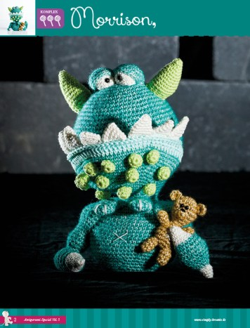 Monster Amigurumi Vol.5 Heft 03/2015 Simply Kreativ