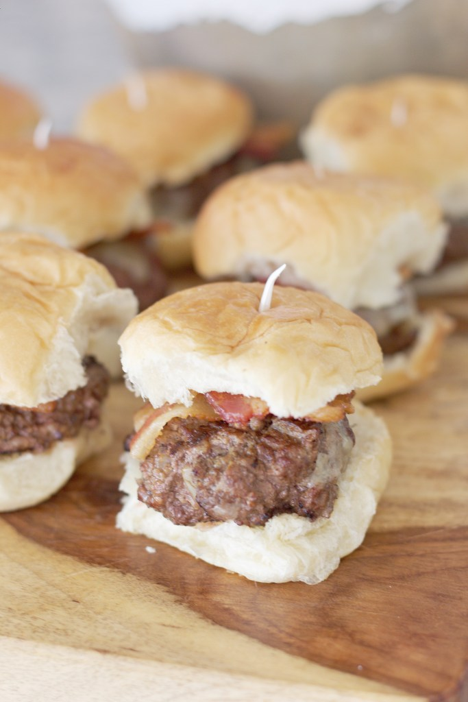 Melt In Your Mouth Honey Bacon Sliders