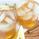 5 Minute Spiced Cider Whiskey Sour