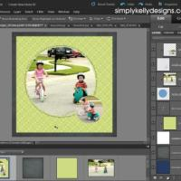 How To Use A PSD Template In Photoshop Elements 10