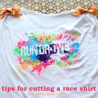 Tips For Cutting A Race Shirt
