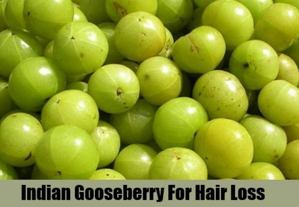 Gooseberry(Amla) To Stop Hair Fall