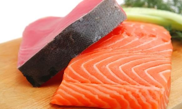 Tuna or salmon