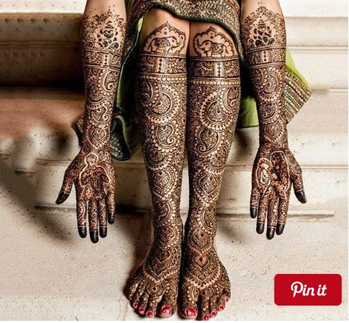 god emboss mehndi design
