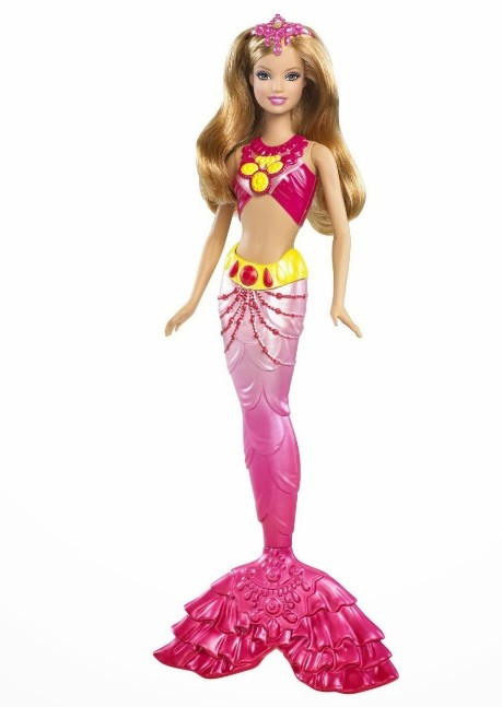 Cute image of the fish barbie doll