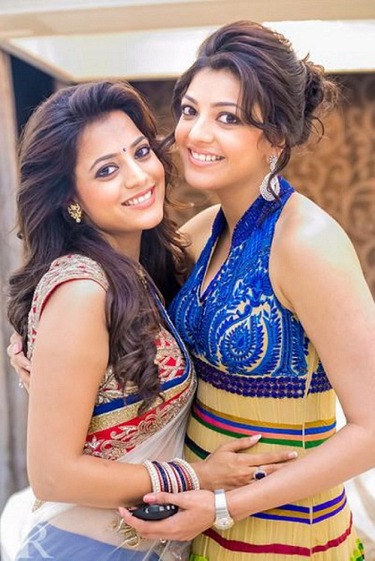 kajal aggrawal with nisha aggrawal
